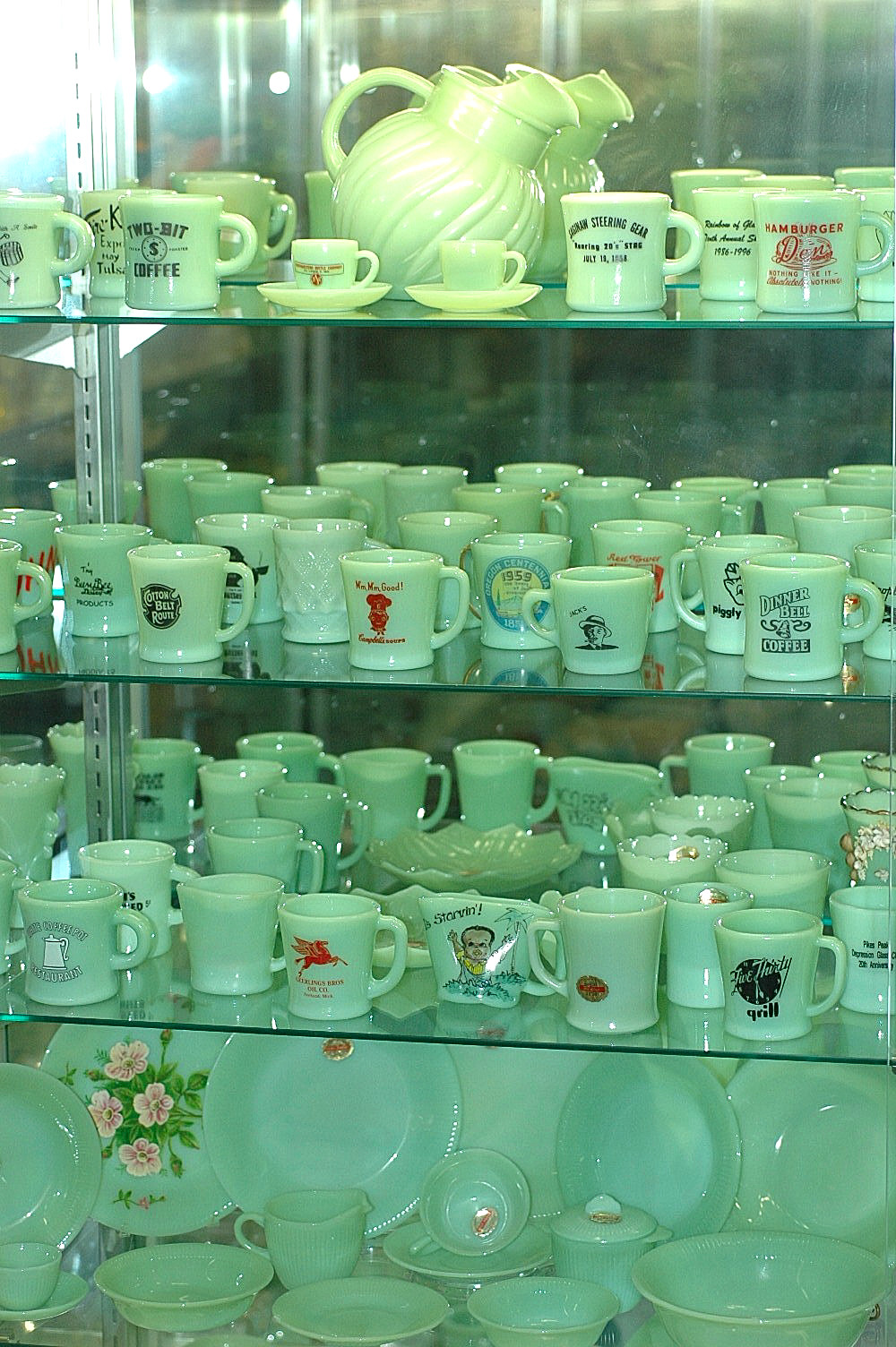 Forest Green - a portion of the museum!